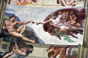 3300936535 960f1e28a0 300x199 The Sistine Chapel Ceiling: The Secret in Plain Sight