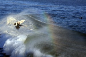 A surfer in the air 2 300x199 The Rainbow as a Divine, Mystical Symbol