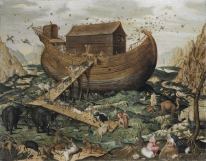 Noahs Ark on Mount Ararat by Simon de Myle 300x235 The Esoteric Meaning of the Ark of Noah and the Bigger Picture of the Flood Myth
