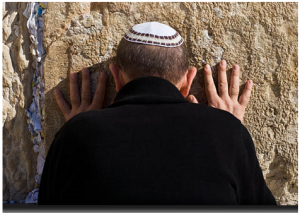 Jewish man at Wailing Wall