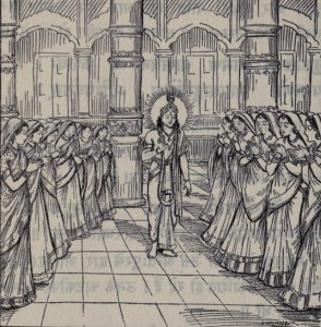 krishna marrying 16000 wives