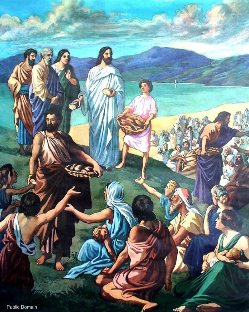 Why the Miracle of Feeding the 5,000 with Five Loaves and Two Fish?