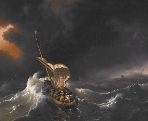 Christ calming the Storm at Sea