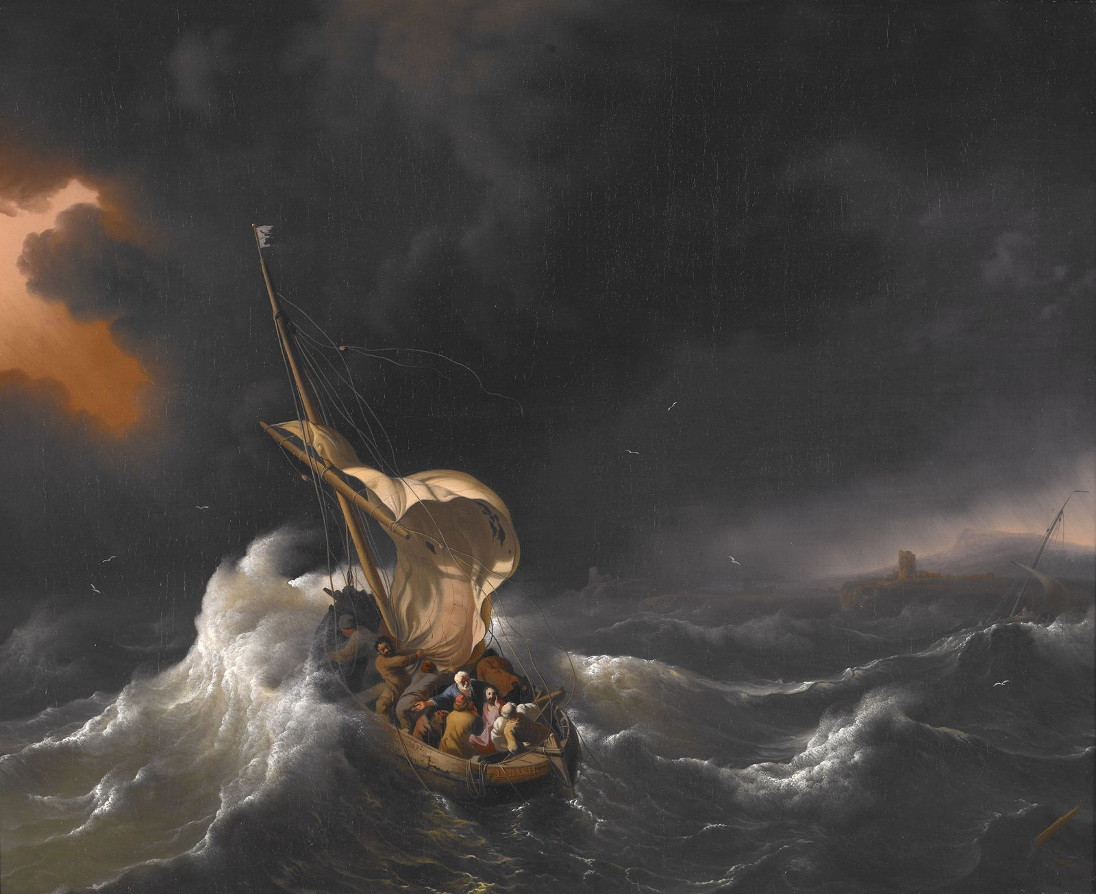 Jesus Calms the Storm: The Inner Christ Arises